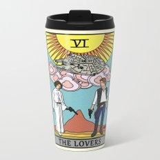 The Lovers - Tarot Card Metal Travel Mug
