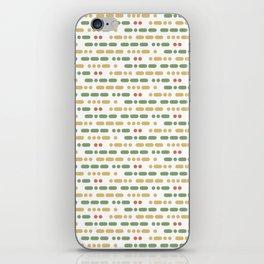 I Love You Morse Code II iPhone Skin