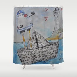 No soy marinero... Shower Curtain