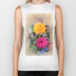 Summer Bursts Biker Tank