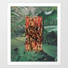 Botanique Royal Art Print