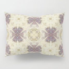 Lily Cream Pattern Pillow Sham