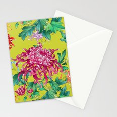 Oriental Flowers Stationery Cards