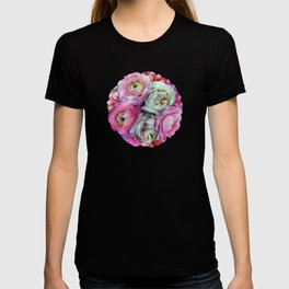 Romantic flowers I T-shirt