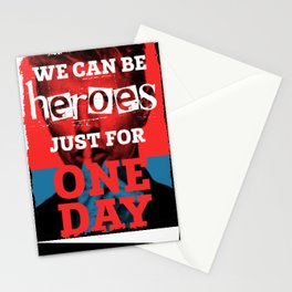 Heroes - Bowie Stationery Cards