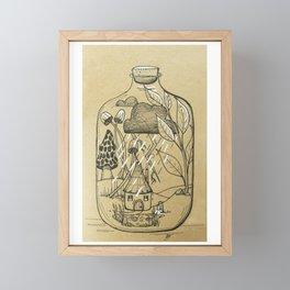 The Storm Framed Mini Art Print