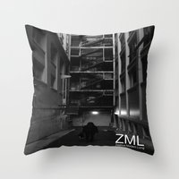 uncharted Throw Pillows featuring Uncharted II by ZML Zealous Modern Living
