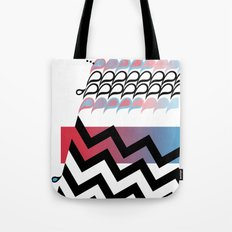 Paisley Chevrons Tote Bag