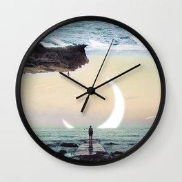 Oceanside Exploration Wall Clock