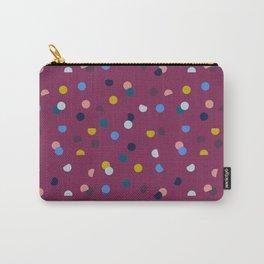 Purple Confetti Spot Carry-All Pouch