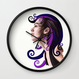 Memories of the past, the time of hopes and trust Wall Clock