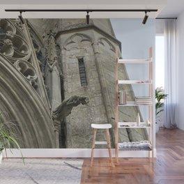 Gargoyles of Saint-Nazaire basilica Wall Mural