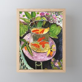 Henri Matisse Goldfish 1911 Framed Mini Art Print