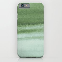 Sky Watercolor Texture Abstract 220 iPhone Case
