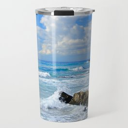 Corfu Island Greece Travel Mug