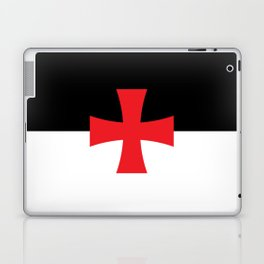 Knights Templar Flag Laptop & iPad Skin
