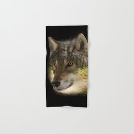Wolf in the Forrest Hand & Bath Towel