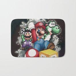 Mario et ses amis Bath Mat