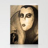 evil queen Stationery Cards featuring evil queen -snow white by Mathieu DeVille