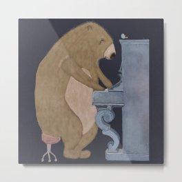 boogie bear Metal Print