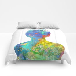 Ocean Thoughts Comforters