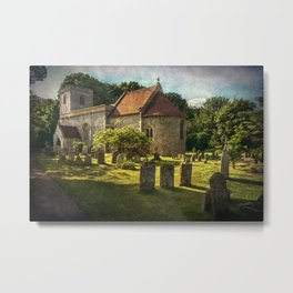 St Peter and St Paul Checkendon Metal Print