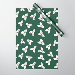 Trilliums Wrapping Paper