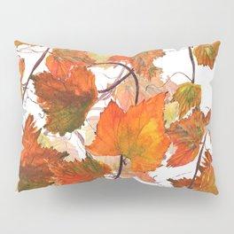 orange grapevine 2 Pillow Sham