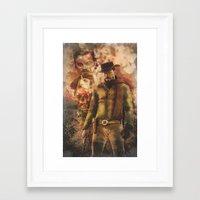 django Framed Art Prints featuring Django by Cullenthecreator