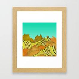 Australica Beach Shells Framed Art Print