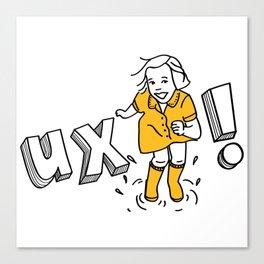 UX! Canvas Print