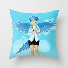 Twitter Mascot Throw Pillow