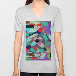 Exclusion - Graffiti Collection Unisex V-Neck