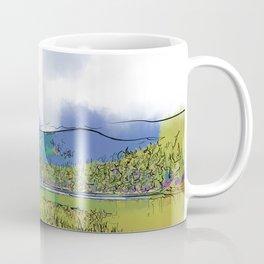 Mountain Meadow Lake Coffee Mug