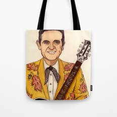Merle Travis II Tote Bag