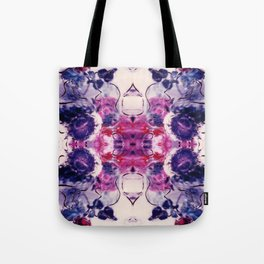 Wine & Flowers Photographic Pattern #1 Tote Bag
