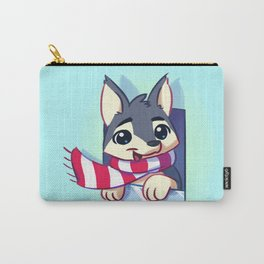 Window Doggy Doodle Carry-All Pouch