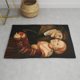 """Lucas Cranach the Elder """"The Ill-Matched Couple"""" 2. Rug"""
