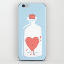 Let the LOVE Out iPhone Skin