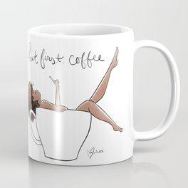 But first, coffee Kaffeebecher