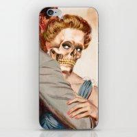 ginger iPhone & iPod Skins featuring GINGER by Julia Lillard Art