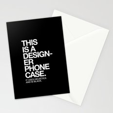 THIS IS A DESIGNER... Stationery Cards