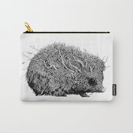 Leaf Hedgehog Carry-All Pouch