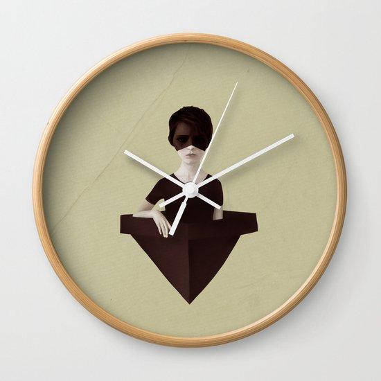 Ceci n'est pas un bateau Wall Clock