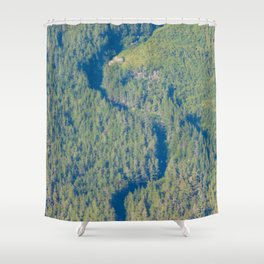 Shadow Creek Shower Curtain