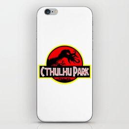Cthulhu Park iPhone Skin