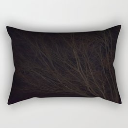 Into the Darkness of Winter Rectangular Pillow