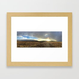 Land and Sky Framed Art Print