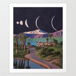 Multiverse Similarities Art Print