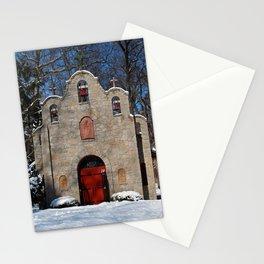 Portiuncula Chapel in Winter III Stationery Cards